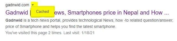 google cache, cache, cache on google