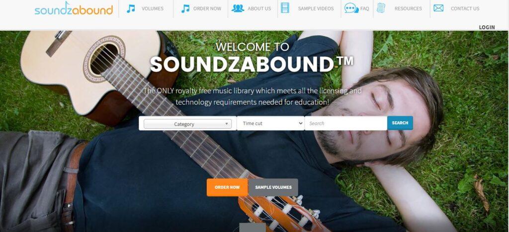 soundzabound, unblocked school music websites