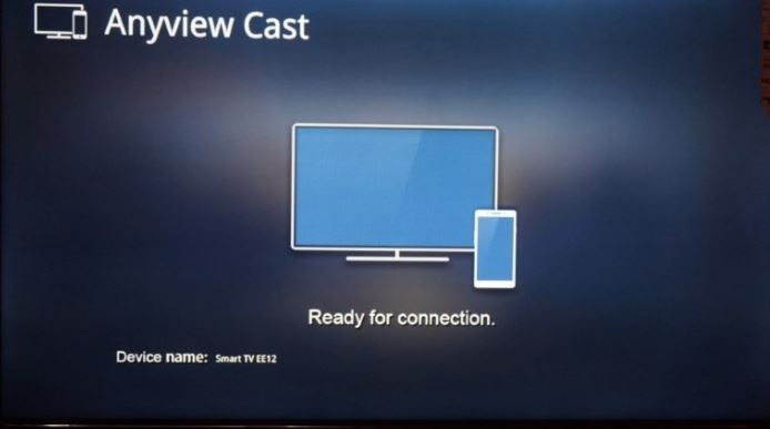 Anyview cast hoe to connect