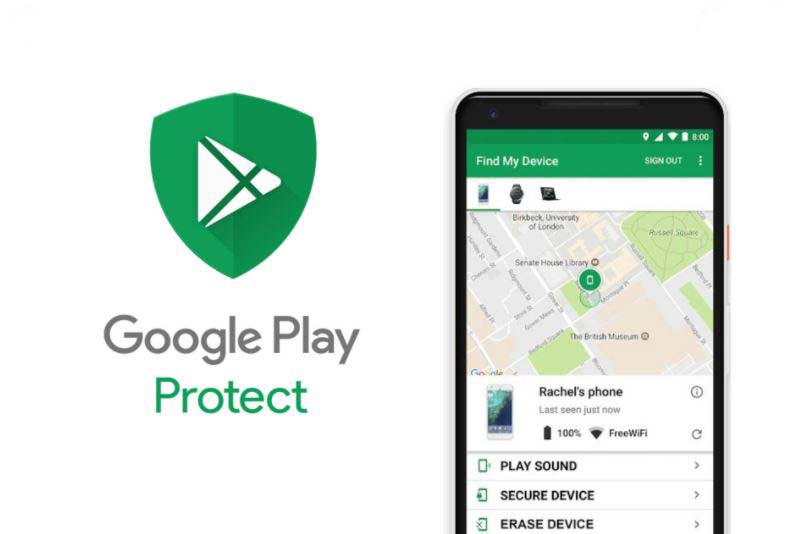 google play protect to protect privacy