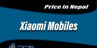 Xiaomi MObiles price in Nepal, mi-nepal