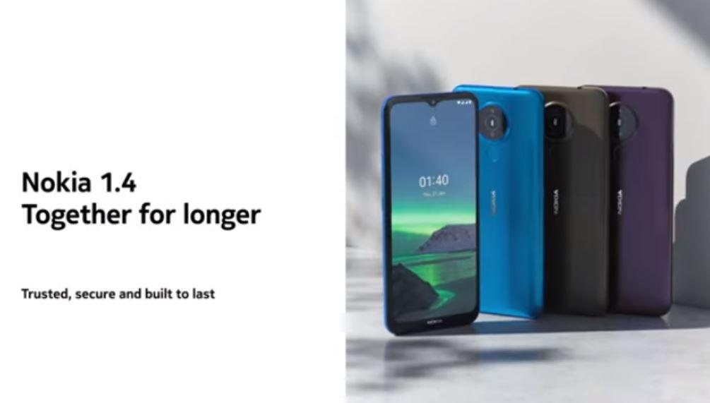 Nokia 1.4 price in Nepal, Nokia Nepal