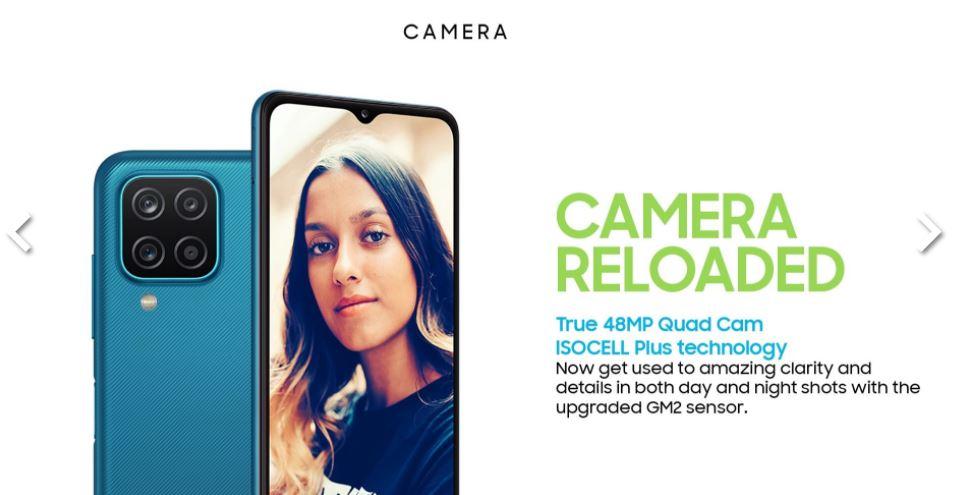 Samsung M12 Camera