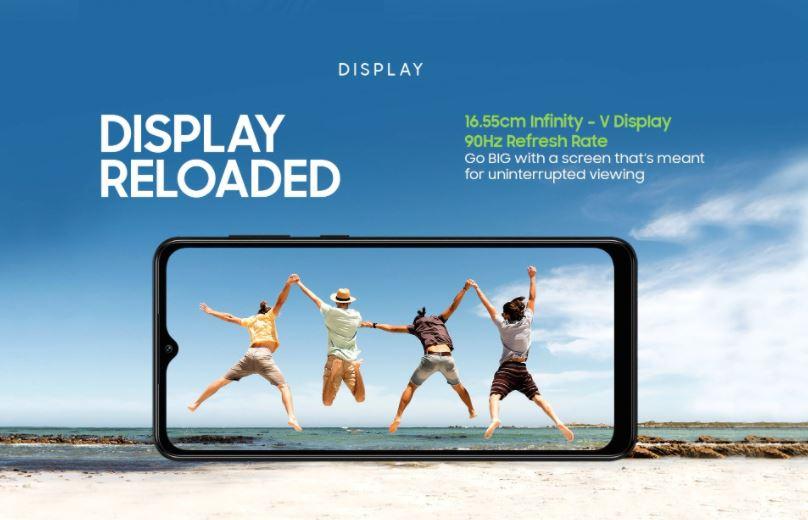 Samsung screen galaxy M12