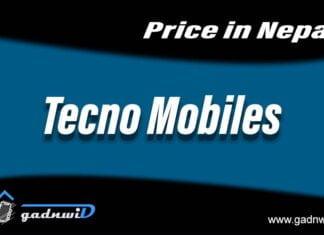 Tecno mobiles price in Nepal, Tecno Smartphones price in Nepal
