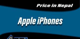 Apple iphones price in Nepal, price of iphones in nepal, iphones price nepal 2021