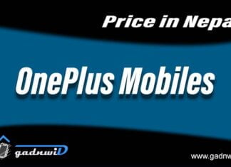 OnePlus mobiles price in Nepal, price of OnePlus mobiles in Nepal, OnePlus Nepal