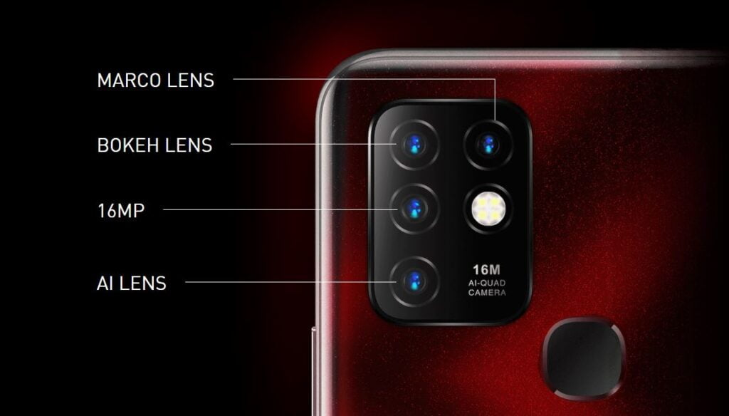 camera infinix hot 10