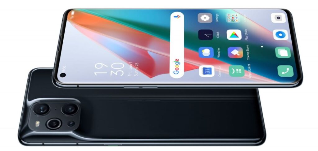Oppo 10-bit color display