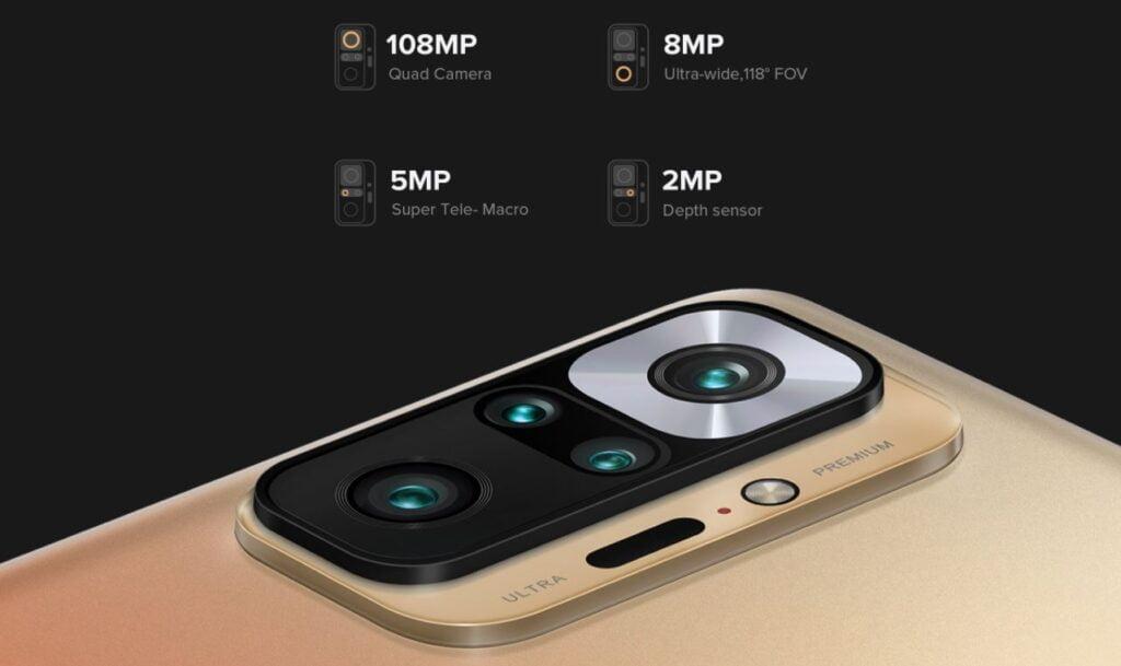 10 pro max camera system, 108Mp camera module