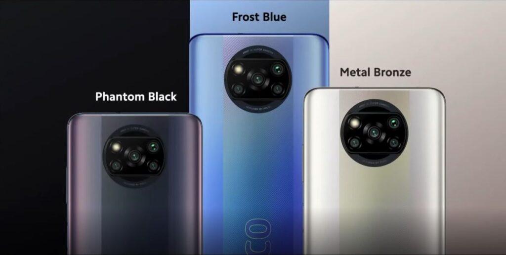 Poco X3 Pro Design and colors, Poco X3 Pro colors and specifications, Poco X3 Pro Price and specifications