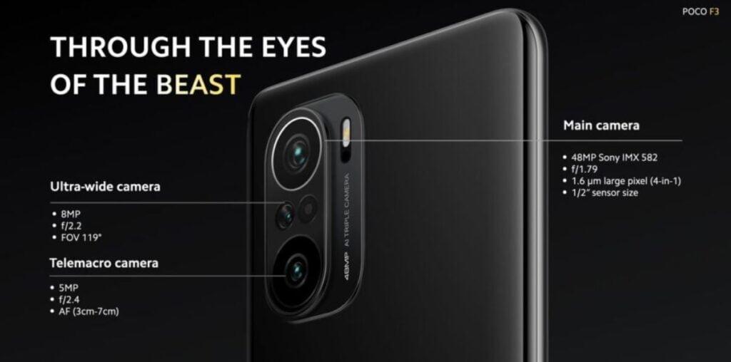 Poco F3 Camera, price of Poco F3 in Nepal, Poco F3, Poco mobiles in Nepal, price of poco phones nepal