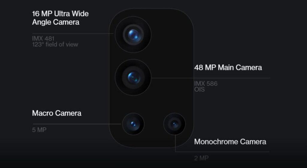Oneplus 9r camera, Oneplus 9r quad camera setup, Oneplus 9r price in Nepal, Price of Oneplus 9r in Nepal,