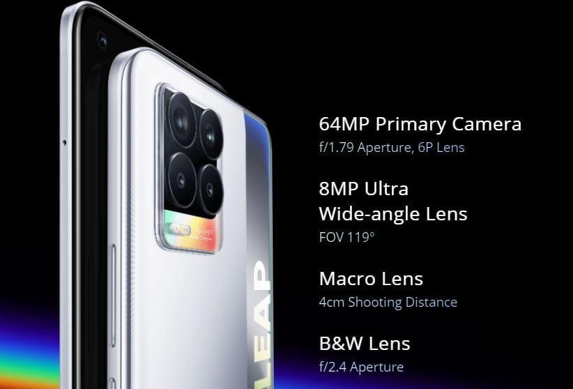 realme 8 price in nepal, realme 8 cameras, realme 8 camera specs, realme 8 specifiactions, realme 8 full specifications