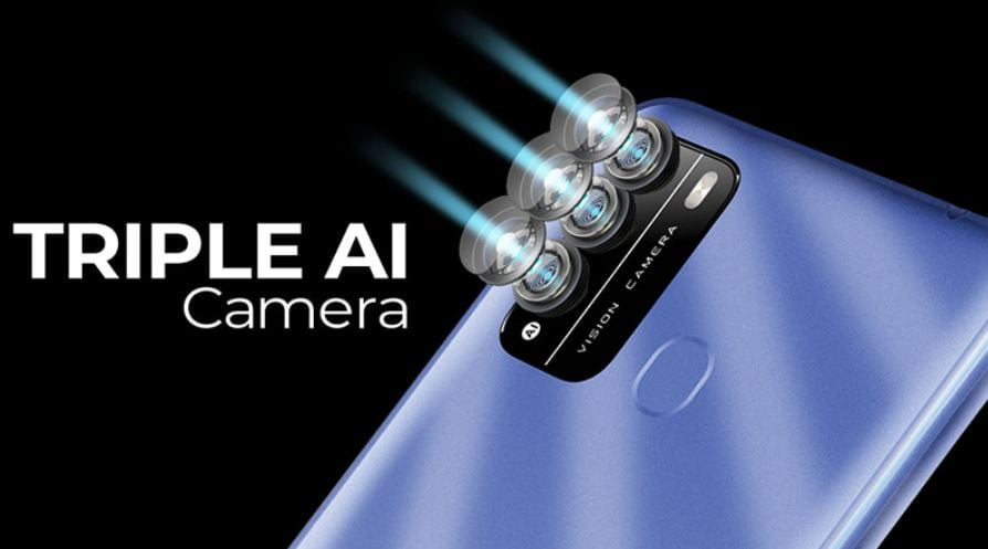 itel vision 1 pro camera, itel vision 1 pro triple camera,