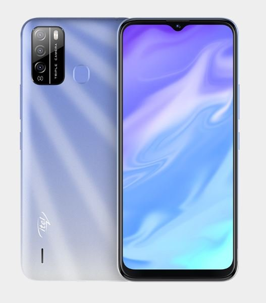 itel vision 1 pro color, itel vision 1 pro in Ice Crystal Blue color