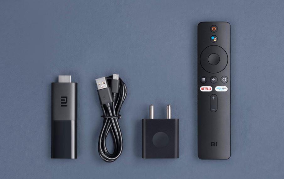 Xiaomi Mi TV Stick content in the box