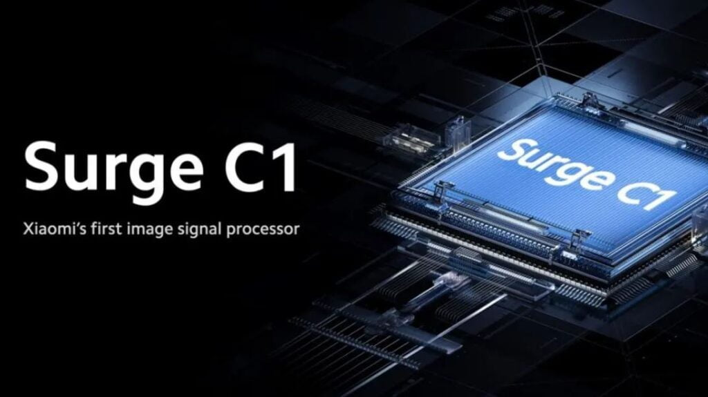 Xiaomi's first image signal processor, surge c1, c1, surge, xiaomi camera sensor, xiaomi surge c1,