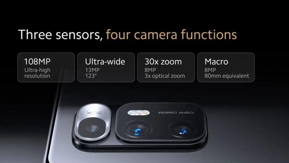 Mi Mix Fold cameras, cameras of Mi Mix Fold, xiaomi Mi Mix Fold camera specification,