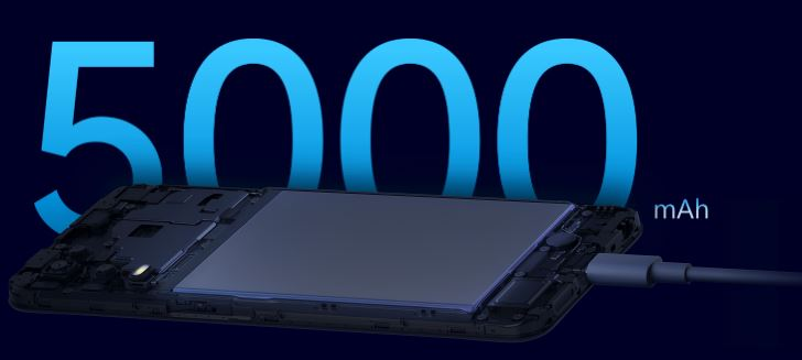 5000mah battery, 5000 mah battery, battery, massive battery, 18w fast charge support, fast charge on 5000mah, charge 5000 mah battery