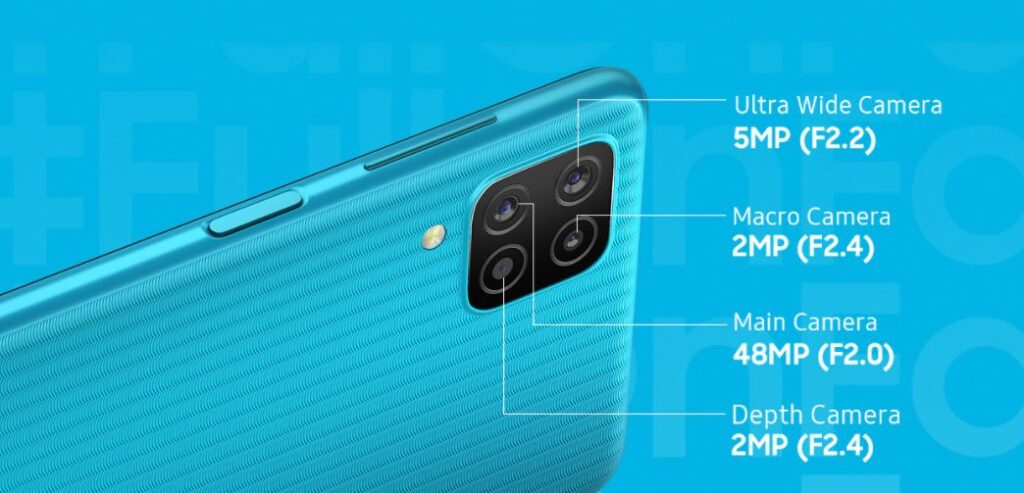 galaxy f12 camera, galaxy f12 camera specs, galaxy f12 camera features,