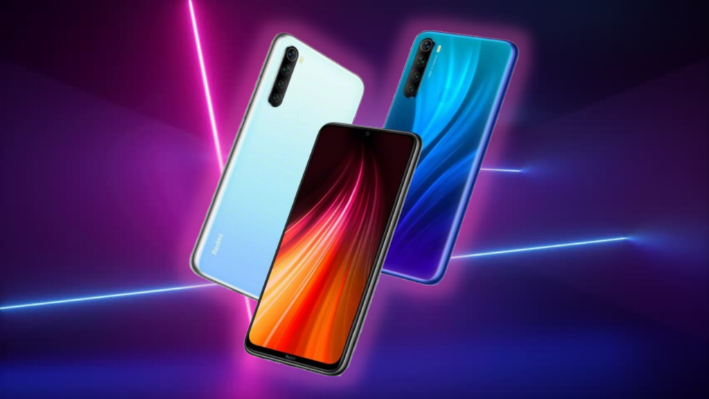 Redmi Note 8 2021 display and design