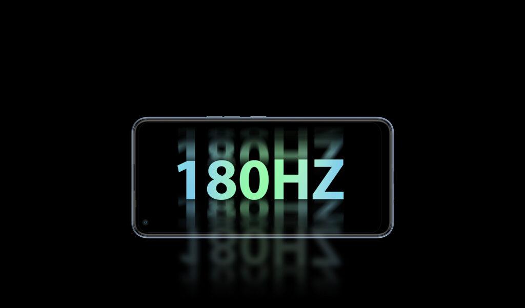 180Hz refresh rate