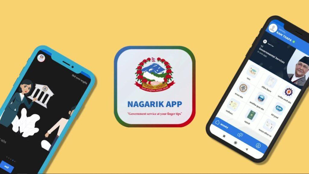 nagarik app, nagarik app website, nepal, digital nepal,