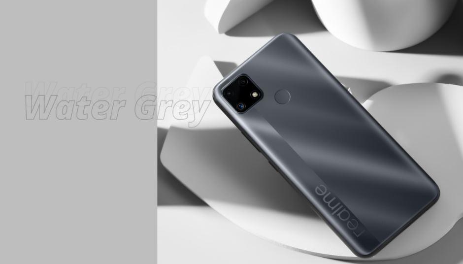 realme c25s black grey