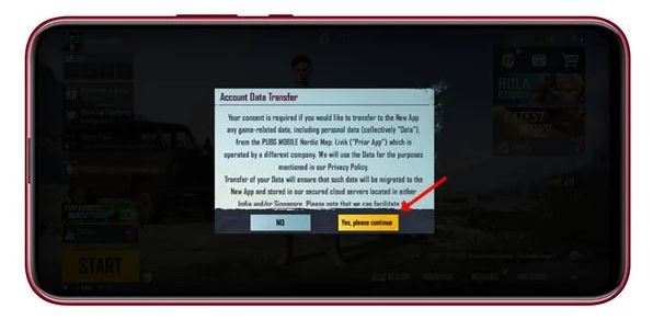 transfer pubg data to battlegrounds mobile india