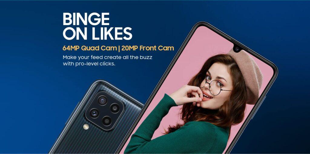Samsung Galaxy M32 camera