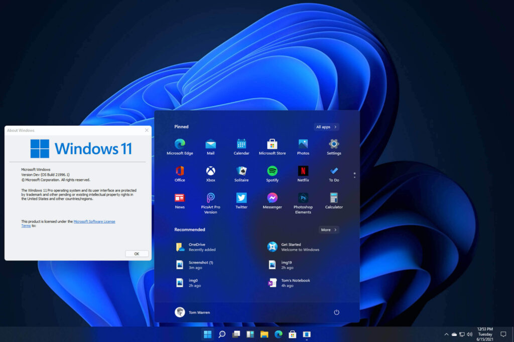 download and install windows 11 OS on pc/laptops