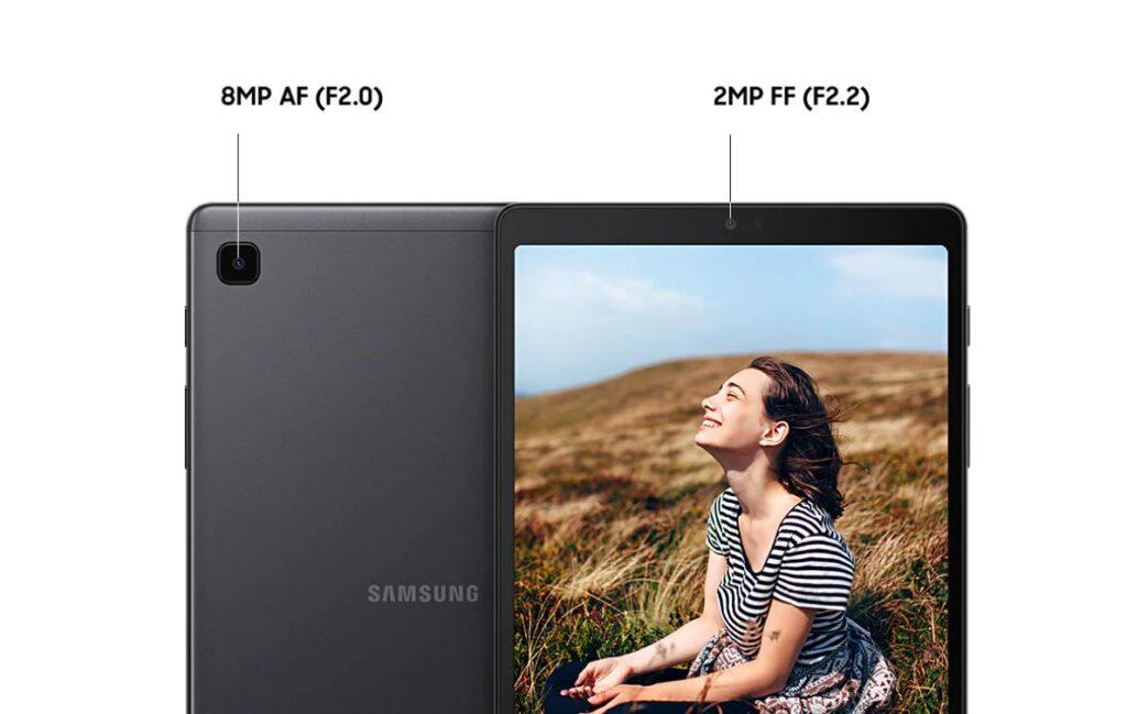 Samsung Galaxy Tab A7 Lite camera