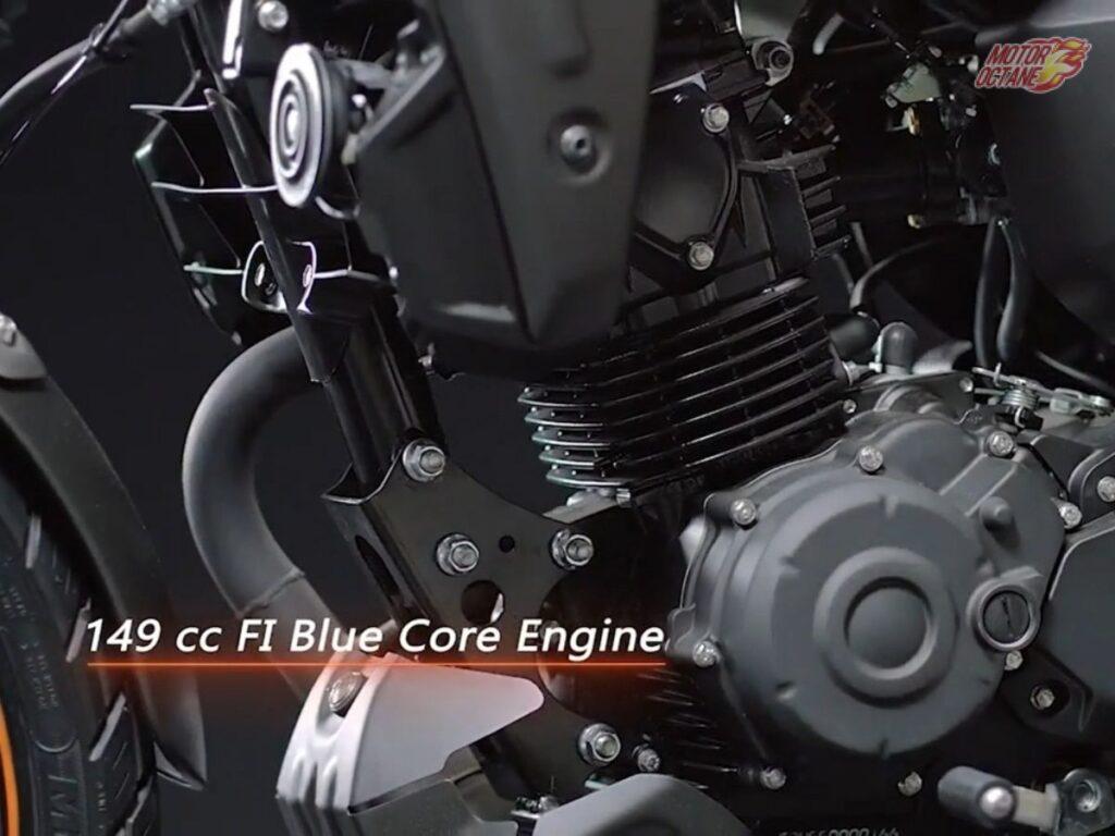 Yamaha FZ-x 150CC engine