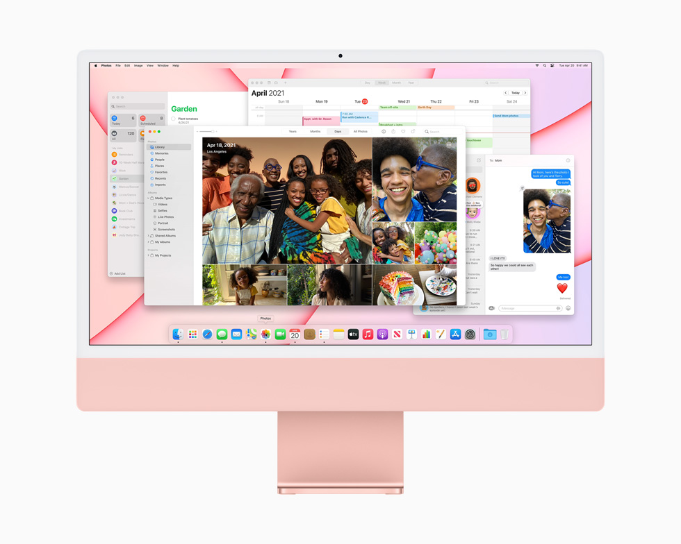 latest iMac 2021 performance