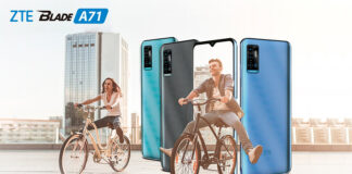 ZTE Blade A71 price in Nepal