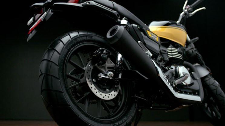 honda scrambler bike