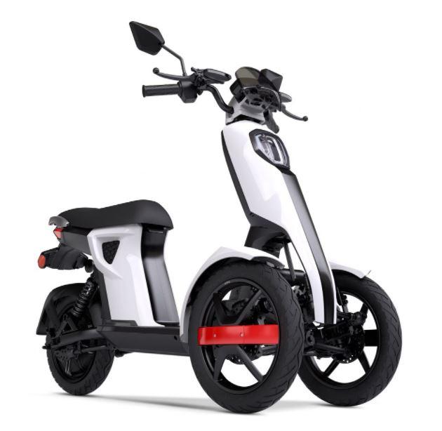 triple wheel e-scooter in nepal doohan