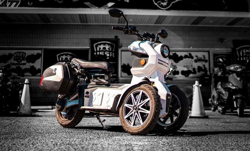 doohan i-tank triple wheel scooter in nepal