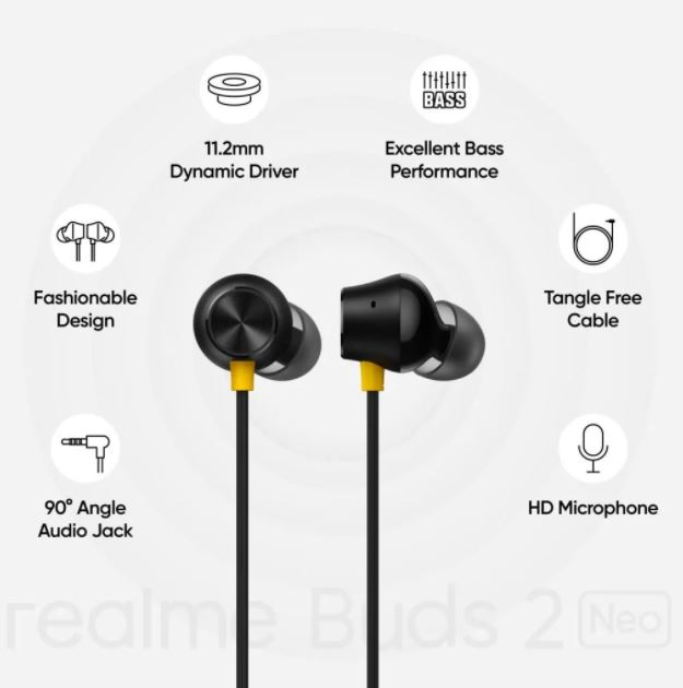 Realme Buds 2 Neo specifications