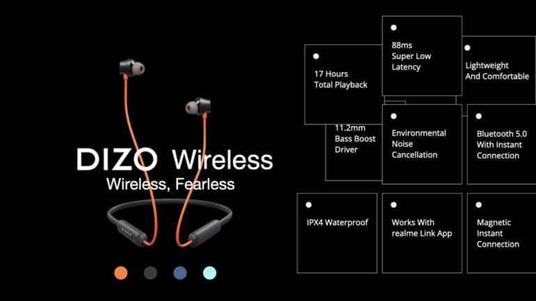 Dizo Wireless Specifications