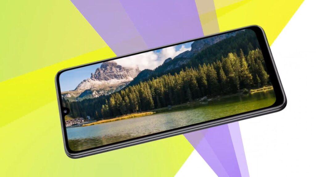 Samsung Galaxy F22 display and design