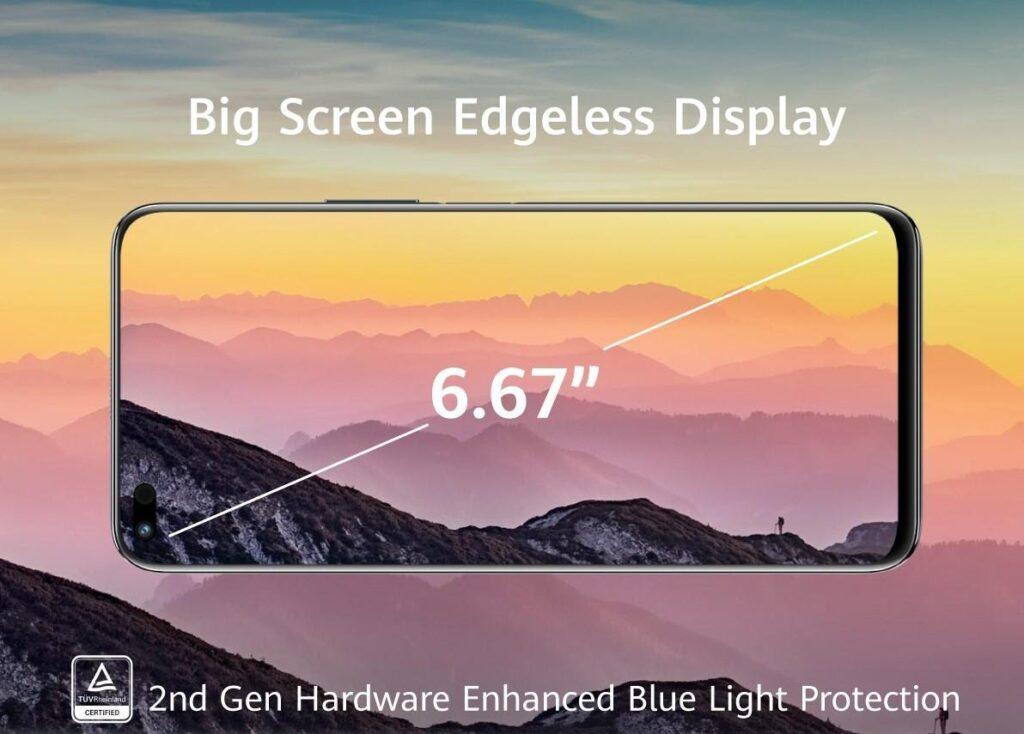 Huawei nova 8i display