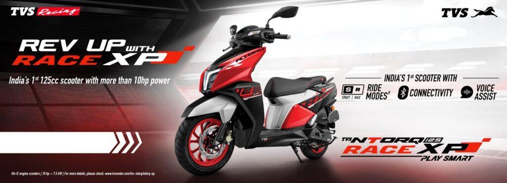 TVS ntorq 125 race xp price nepal