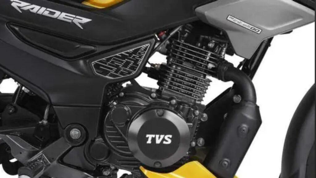 tvs raider 124.8cc engine